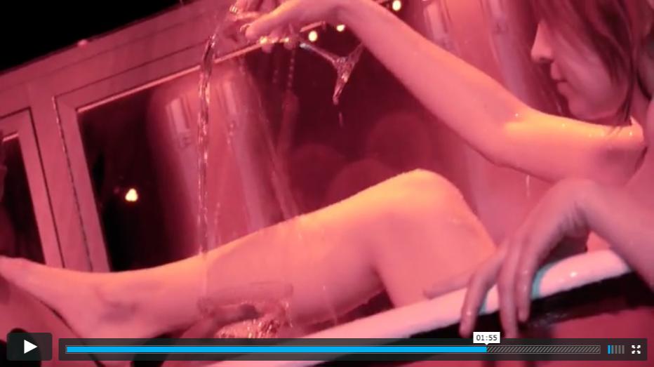Belvedere Vodka Bathtub Video screengrab