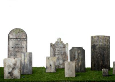 gravestonesall
