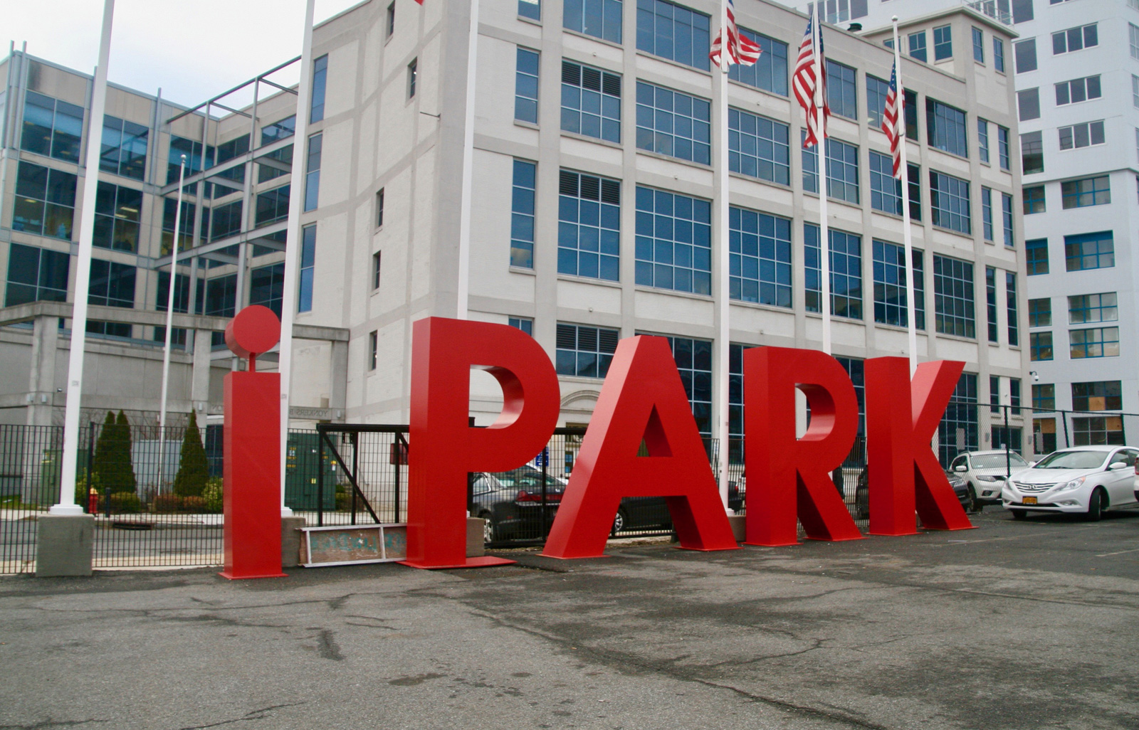 Sculptural Signage for iPark